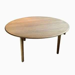 Ausziehbarer Eichenholz Tisch von Hans Wegner für PP Møbler
