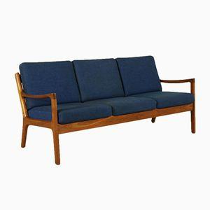 Danish Three-Seater Teak Sofa from Cado, 1960s