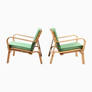 Danish Lounge Chairs by Hans Wegner for Getama, 1960s, Set of 2