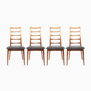 Lis Rosewood Dining Chairs by Niels Koefoed for Hornslet Møbelfabrik, 1960s, Set of 4