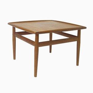 Square Teak Side Table by Grete Jalk for France & Søn, 1962