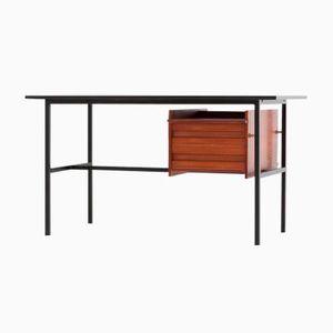 Iron & Teak Desk, 1950s