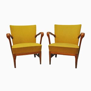 Vintage Club Chairs from Atvidabergs, Set of 2
