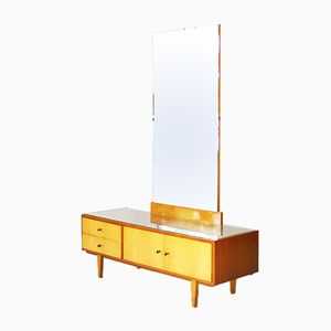 Walnut & Maple Dressing Table, 1950s