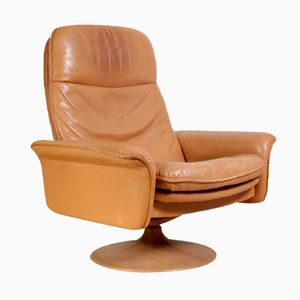 Leather Swivel Chair from de Sede, 1960s