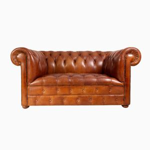 Buy antique and vintage sofas at pamono - Canape chesterfield vintage ...