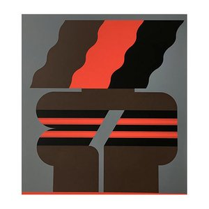Screenprint by Georg Bernhard, 1970s
