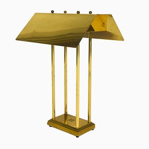 Brass Table Lamp by Peter Ghyczy, 1980s