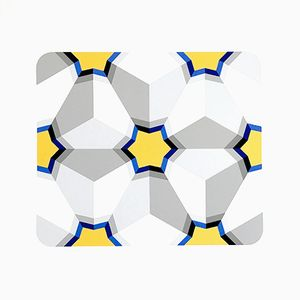 Hexagon II Serigraph by Marko Spalatin, 1984