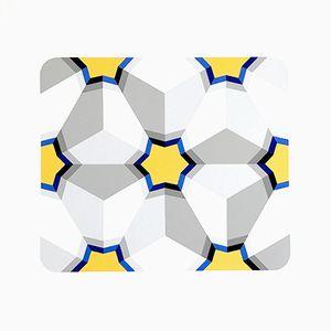 Hexagon II Serigraphie von Marko Spalatin, 1984