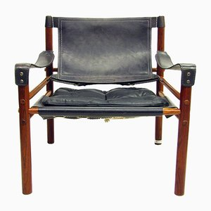 Rosewood Sirocco Chair by Arne Norell, 1960s