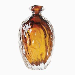 Vaso Dattero per un fiore in vetro soffiato di Murano di Stories of Italy