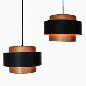 Juno Pendant Lamps by Jo Hammerborg for Fog & Morup, Set of 2