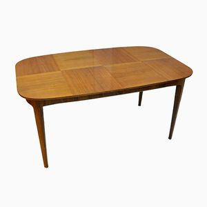 Vintage Teak Table with Inserts, 1970s