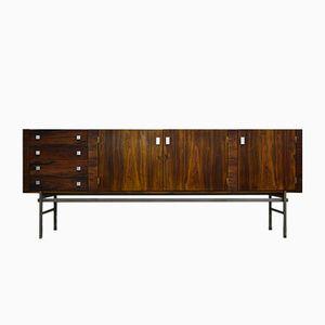 Three-Door Rosewood Sideboard by Alfred Hendrickx for Belform