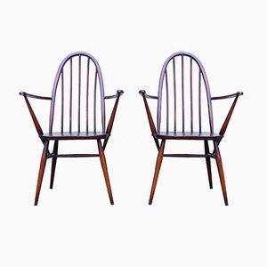 Windsor Sessel von Ercolani für Ercol, 1960er, 2er Set