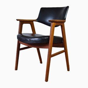Teak Armchair by Erik Kirkegaard for Høng Stolefabrik, 1950s