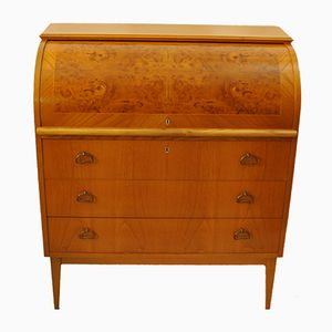 Roll Top Secretaire Desk, 1960s
