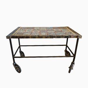 Vintage Industrial Factory Cart