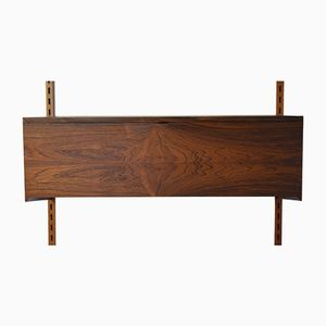 Rosewood Hanging Record Player Cabinet by Kai Kristiansen for Feldballes Møbelfabrik, 1960s