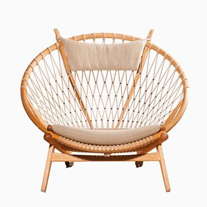 Circle Chair by Hans J. Wegner for PP Møbler, 1980s