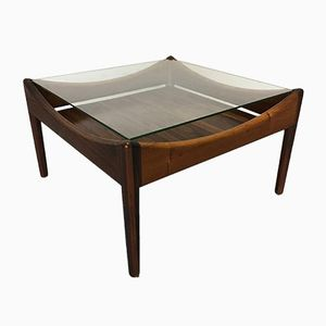 Vintage Rio Rosewood Coffee Table by Kristian Vedel for Søren Wiladsen