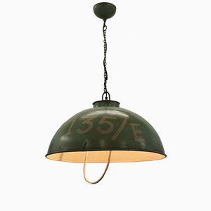 Vintage Industrial American Army Lamp
