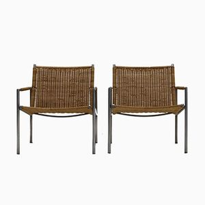 Dutch SZ01 Lounge Chairs by Martin Visser for 't Spectrum, 1960, Set of 2