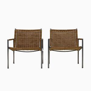 Niederländische SZ01 Sessel von Martin Visser für 't Spectrum, 1960, 2er Set
