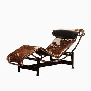Lounge Chair Model B306-LC4 by Le Corbusier for Cassina, 1960s