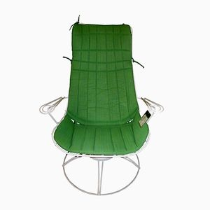 Riviera Line Swivel Patio Chair from Homecrest, 1963