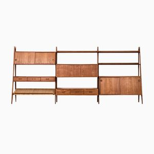 Bookcase by Arne Vodder & Anton Borg for Vamo, 1950s