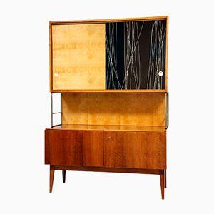 Vintage Czechoslovakian Wooden Dresser