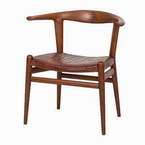 Vintage JH518 Armchair by Hans J. Wegner for Johannes Hansen