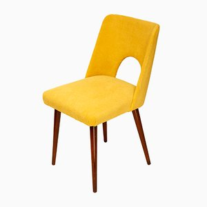 Vintage Yellow Side Chair, 1970s