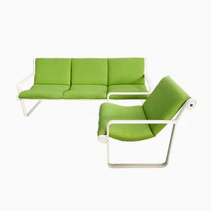 Lounge Sofa and Chair by Hannah Morrisson for Knoll International, 1970s