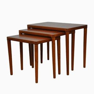 Tables Gigognes par H.W. Klein pour Bramin, Danemark, 1960s