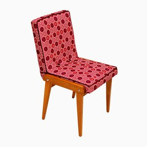 Chaise d'Appoint Vintage Framboise