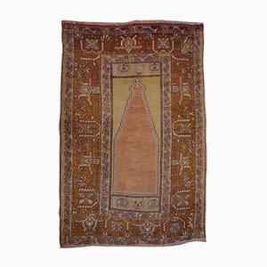 Tapis de Prière Vintage Tissé à la Main, Turquie