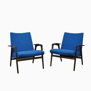 Easy Chairs by Yngve Ekström for Pastoe, 1960s, Set of 2