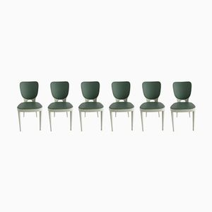 Brettstühle Chairs by Max Bill for Horgen Glarus, 1952, Set of 6