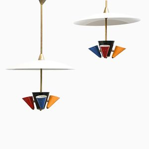 Colorful Suspension Light, 1970s