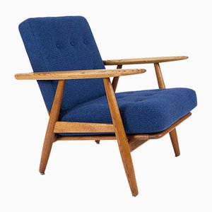 GE-240 Oak Cigar Chair Hans J. Wegner, 1955