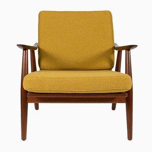 GE-270 Teak Lounge Chair by Hans J. Wegner for Getama, 1950s