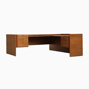Large Mid-Century Danish Corner Desk from Brouer