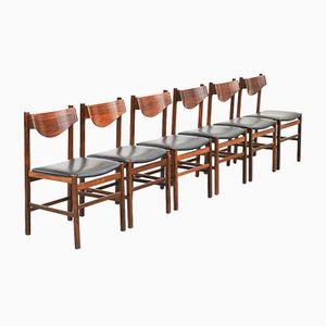 Chaises de Salon Vintage, Italie, 1960s, Set de 6