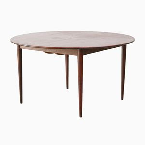 Large Round Danish Dining Table, 1960s