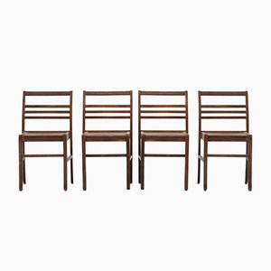 Mid-Century Dining Chairs by René Gabriel, Set of 4
