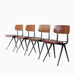 Result Teak Stühle von Friso Kramer für Ahrend De Cirkel, 1958, 4er Set