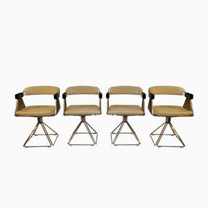 Esszimmerstühle von Rudi Verelst für Novalux, 1970er, 4er Set